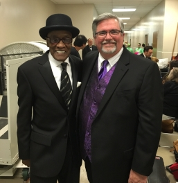 Jimmy with Billy Paul